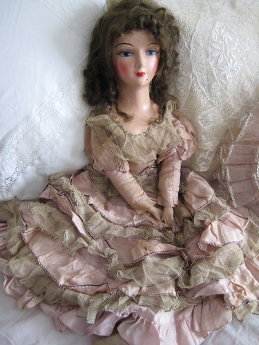 Vintage Boudoir Doll by you.
