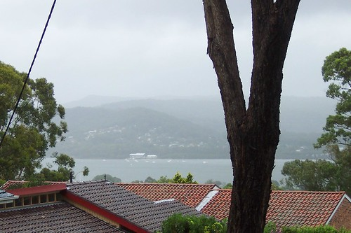 TS Hawkesbury & Point Clare from Bay View Avenue East Gosford