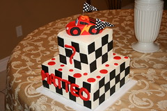 Cars Cake (irresistibledesserts) Tags: birthday cars cake