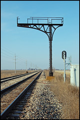 Railroad Semaphore Signal Tower