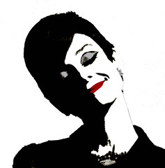 AUDREY (SwEeTcHy) Tags: art smile photoshop artwork stencil audreyhepburn ps pop popart sonrisa avision