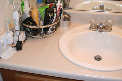 Bathroom Sink After