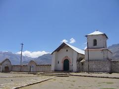 Huaynacotas eglise