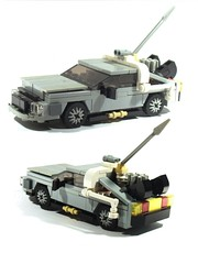 DeLorean (gambort) Tags: lego delorean backtothefuture