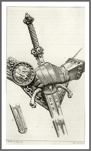 pag 396a-Tomo V- puño de espada a dos manos siglo XV