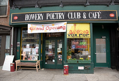 Bowery Poetry Club & Cafe by Laughing Squid, on Flickr