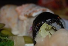 Sushi and Sashimi from Benihana Restaurant