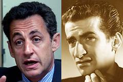 Nicolas Sarkozy et Louis de Funès