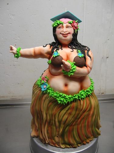 fat hula cake