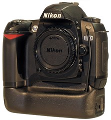 Nikon D70 with Battery grip