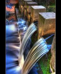 Come Flow With Me - HDR (:: Artie | Photography :: Offline for 3 Months) Tags: longexposure fall water colors photoshop canon flow colours cs2 tripod kitlens australia adelaide 1855mm southaustralia efs hdr weir artie 3xp photomatix tonemapping tonemap 400d rebelxti