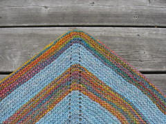danish tie shawl #2 close up
