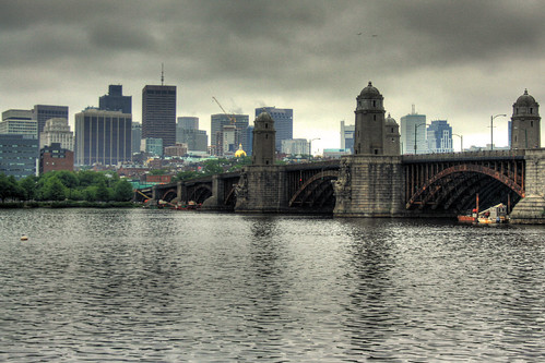 Boston Skyline HDR