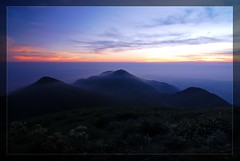 Sunset on Mt. DaTun - Yangminshan