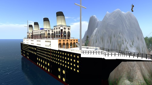 Monet's Titanic Build