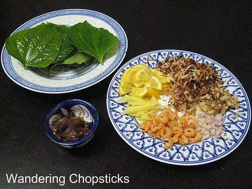 Mieng Kham Thai Leaf-Wrapped Snack 2