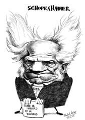 SCHOPENHAUER, Arthur (Morales de los Ríos) Tags: writers caricaturas philosophers caricatures escritores filósofos