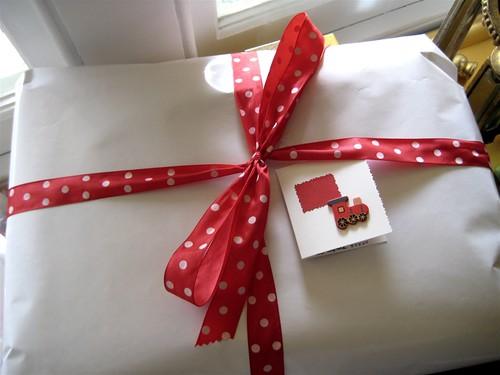 Lochie's present