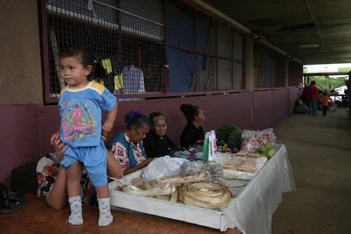 Market in Nuku'alofa, Tongatapu, Tonga.