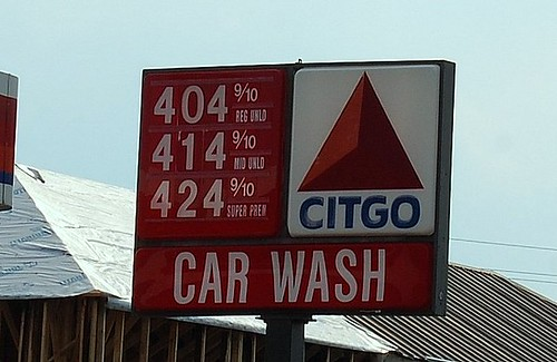 GASOLINE PRICES July 2008