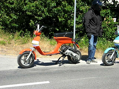 MVI_0591 (mark & anne's photos) Tags: vespa sweden rally scooter lambretta scooters custom scooterrally bretta eurolambretta