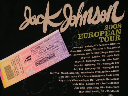 Concierto de Jack Johnson