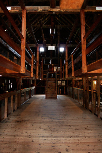 Inside the Wilder Barn