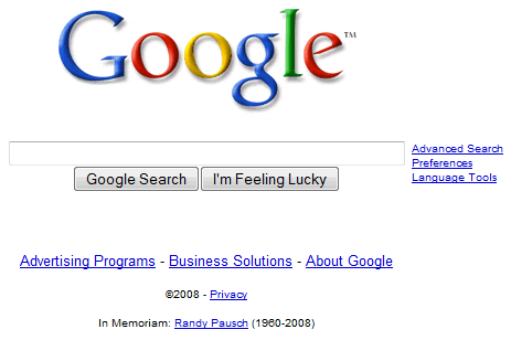 google-homepage-in-memoriam-randy-pausch