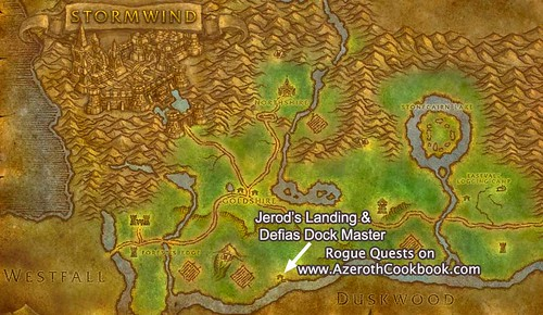 Map of Jerod's Landing