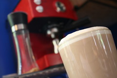 how strong do you make yours? (.sarahwynne.) Tags: red espresso strength latte maker mission24