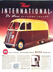 International De Luxe Delivery Trucks (SA_Steve) Tags: old ads metro deluxe retro international advertisements foundontheweb vintageads ifthesebelongtoyou letmeknowandillattributeorremovethem