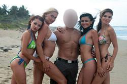 Exotic vacation escort