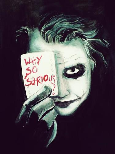 Why So Serious Batman Wallpaper The Dark Knight