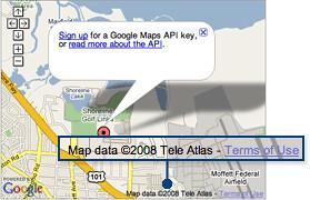 Lizenz bei Maps & Earth