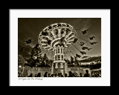 A Night At The Midway - Tokina 11-16 (Pierre Contant) Tags: carnival camping bw ontario canada tourism sepia photoshop bay blackwhite nikon pierre north tokina explore lightroom northbay cs3 1116 contant d80 platinumphoto tokinaatx116prodx nikonflickraward pierrecontant