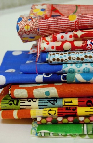 selecting fabrics