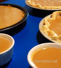 so very many pies