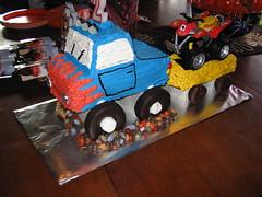 Kolby's cake 2 (srollman2) Tags: birthday cake 4wheeler donuts atv monstertruck