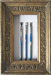 Art Collection (geishaboy500) Tags: art vintage studio fun gold design graphics paint artist brush collection frame giled