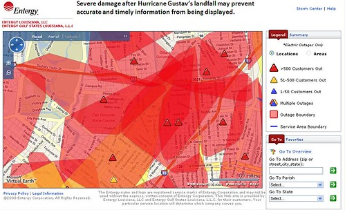 Entergy Outages