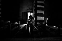 ||| prayer ||| (mauronster) Tags: bw woman eos monocromo prayer ligth 5d solitary 15mm luce reportage preghiera mystics pregare monocromatico godslight sigma1530mmf3545exdgaspif lifeismadeofmagicmoments mauronsterphotographer mauronster