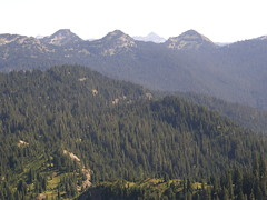 VIews from Shriner Peak camping area.