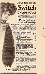 hair extension vintage ad (wotdoin) Tags: vintagead hairextension parisfashion vintageadhairextensionparisfashion