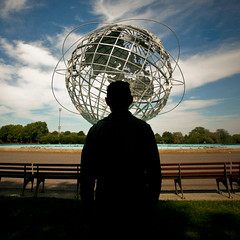 atlas (sgoralnick) Tags: sculpture silhouette globe flushingmeadows queens phillip worldsfair unisphere coronapark phillipckim