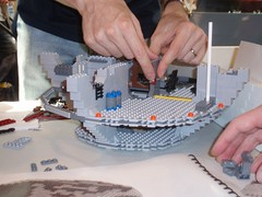 P9200152 (LostCarPark) Tags: starwars lego deathstar brickish brickishassociation speedbuild