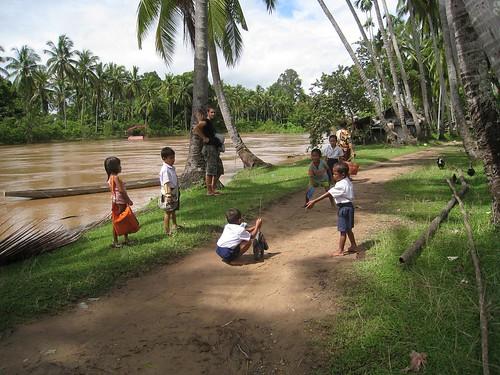 Local kids at play