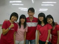 Pei Hwa, Krystal, Justin, Lai Mun, Xin Xin