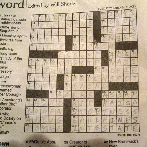 Crossword #2