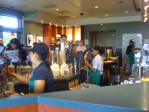 Starbucks on Rockville Pike - Taken With An iPhone