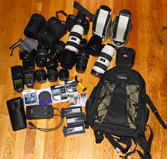 My Camera Stuff (dwightsghost) Tags: camera canon lens eclipse equipment filter dslr charger camerabag lenses circularpolarizer hoya lowepro tiffen lseries lenscase canonef50mmf14usm canonef50mmf18ii canoneos1dmarkii canon580ex graycard canonef100mmf28macrousm canonef70200f28lisusm photographicsolutions canonef1635f28lusm ef70200f28lisusm canonefs1755f28isusm pecpad canon550ex npe3 nce2 canondeluxephotobackpack200eg gpslogger ewipe es71ii et86 gisteqdpl700phototrackr